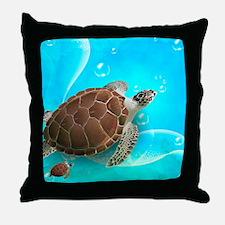 Cute Sea Turtles Throw Pillow