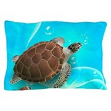 Aquatic animals sea life Pillow Cases