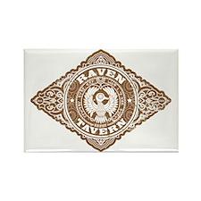 Raven Tavern Rectangle Magnet