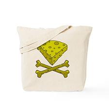 Cheese & Crossbones Tote Bag