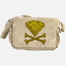 Cheese & Crossbones Messenger Bag