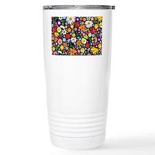 Spring Flowers Pattern Travel Coffee Mug