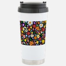 Spring Flowers Pattern Travel Mug