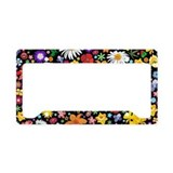 Flowers License Plate Frames
