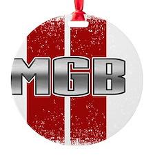 MGB Racing Stripe Ornament