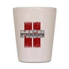 MGB Racing Stripe Shot Glass