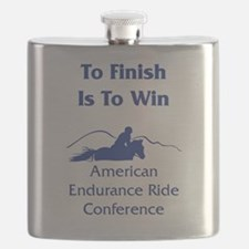 AERC - To Finish Is To Win Flask