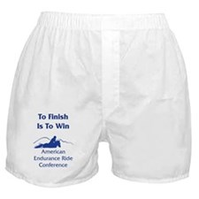 AERC - To Finish Is To Win Boxer Shorts