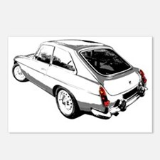 MGB Postcards (Package of 8)