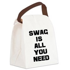 Swag Is All You Need - Bold Canvas Lunch Bag