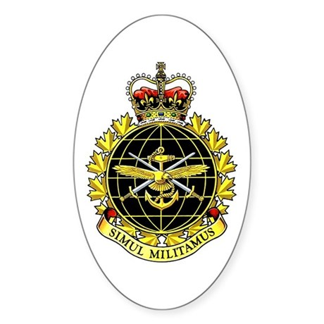 Joint Operations Oval Sticker