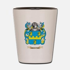 Meister Coat of Arms - Family Crest Shot Glass