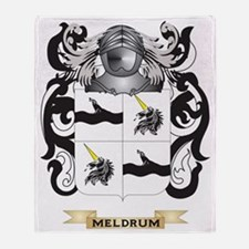 Meldrum Coat of Arms - Family Crest Throw Blanket
