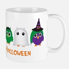 Happy Halloween Owls Mug