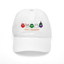 Happy Halloween Owls Baseball Cap