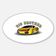 Big Brother (Car) Oval Decal