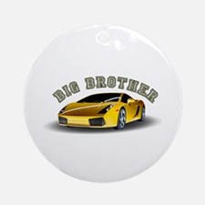 Big Brother (Car) Ornament (Round)
