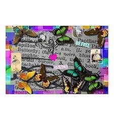 Le Papillon Postcards (Package of 8)