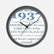Birthday Facts-1937 Wall Clock