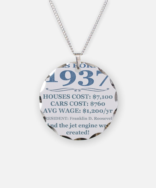 Birthday Facts-1937 Necklace