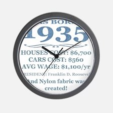 Birthday Facts-1935 Wall Clock