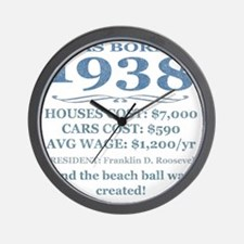 Birthday Facts-1938 Wall Clock