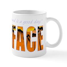 Scarface black tops Small Mug