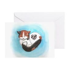 Heart Noosh Greeting Cards