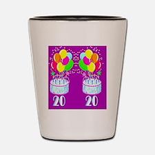 TRENDY 20TH Shot Glass