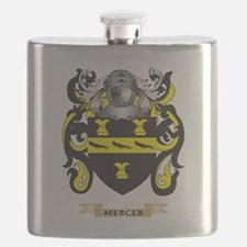 Mercer Coat of Arms - Family Crest Flask