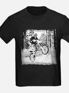 Fun in the woods dirt biking T