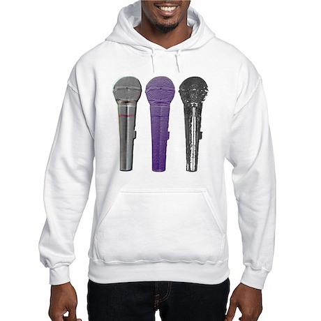 3 mics metal Hooded Sweatshirt