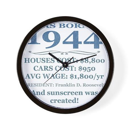 Birthday Facts-1944 Wall Clock