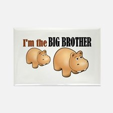 Big Brother (Hungry Hippo) Rectangle Magnet