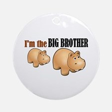 Big Brother (Hungry Hippo) Ornament (Round)