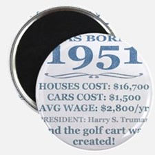 Birthday Facts-1951 Magnet