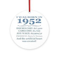 Birthday Facts-1952 Round Ornament