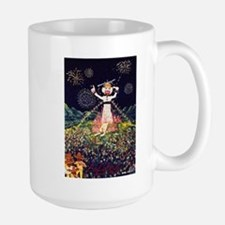 Zozobra de Santa Fe Large Mug