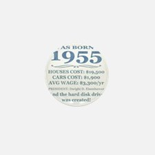 Birthday Facts-1955 Mini Button