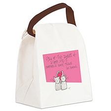 Treats Canvas Lunch Bag