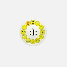 Emoticons Mini Button