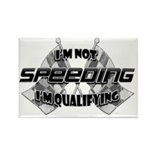 Im Not Speeding Rectangle Magnet