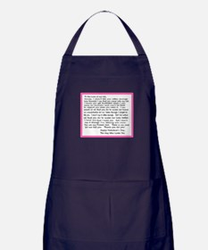 To My Forever Girl Apron (dark)