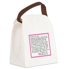 To My Forever Girl Canvas Lunch Bag