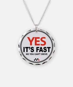 Yes its Fast! Necklace