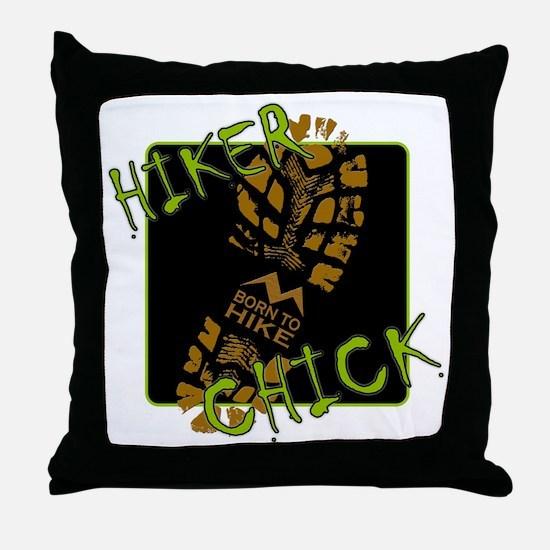 Hiker Chick - Boot Throw Pillow