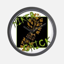 Hiker Chick - Boot Wall Clock