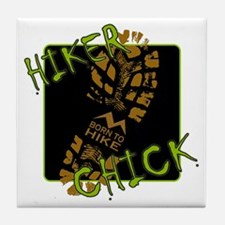 Hiker Chick - Boot Tile Coaster