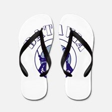 Babes Powder And White.Png Flip Flops