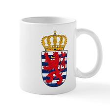 Luxemburg Coat of Arms Small Mug